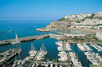 harbour Puerto Escala Gran Canaria